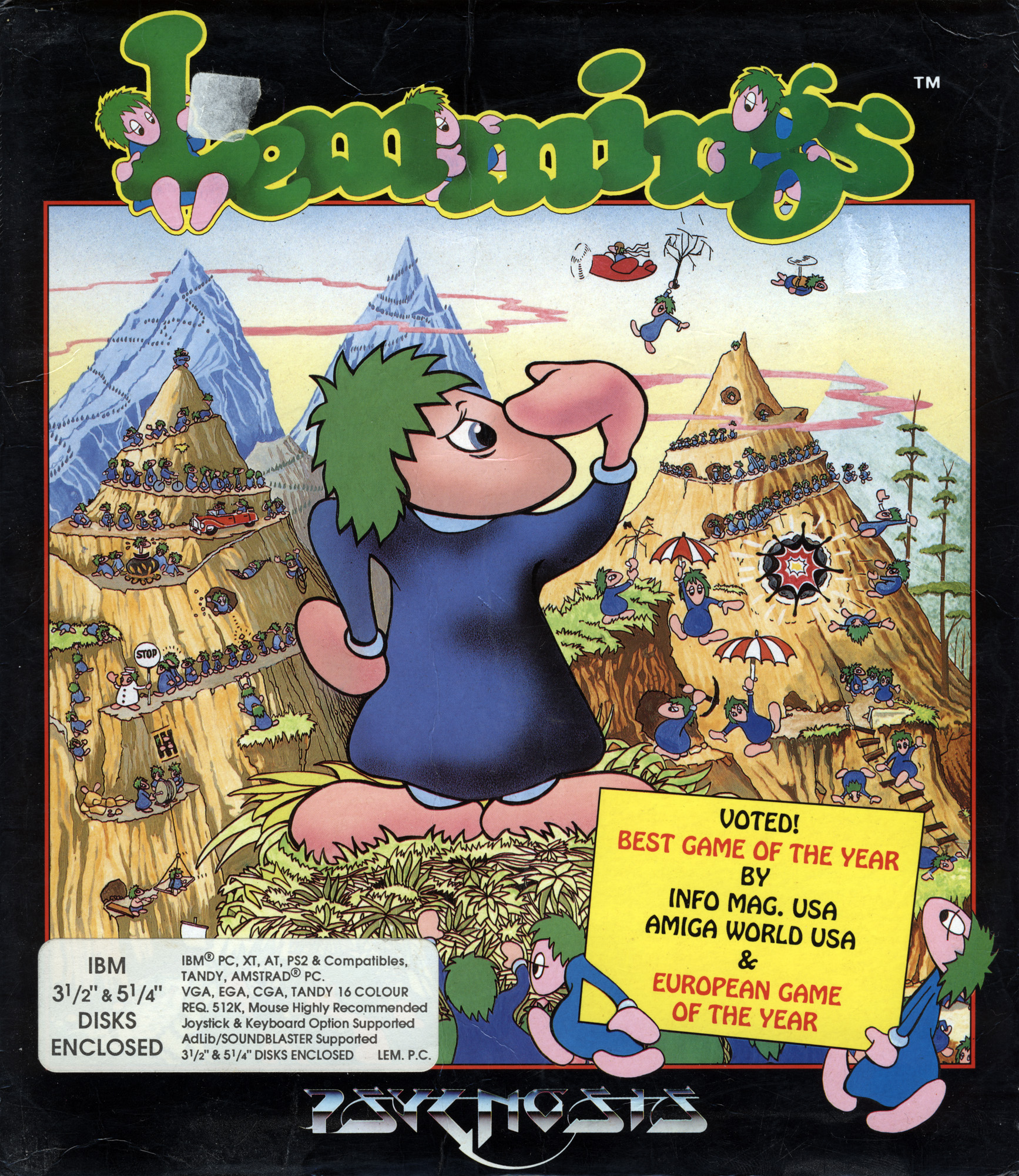 Lemmings game jumping off a cliff - photo#21