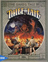 Box shot Bards Tale 3, The - Thief of Fate
