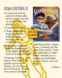 Box shot Star Control 2