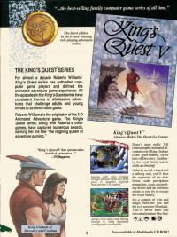 Box shot Kings Quest V - Absence Makes the Heart go Yonder