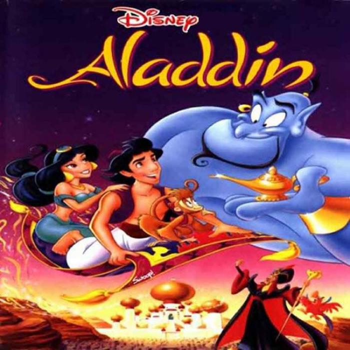 Box Shot Aladdin (CD Case - Front)