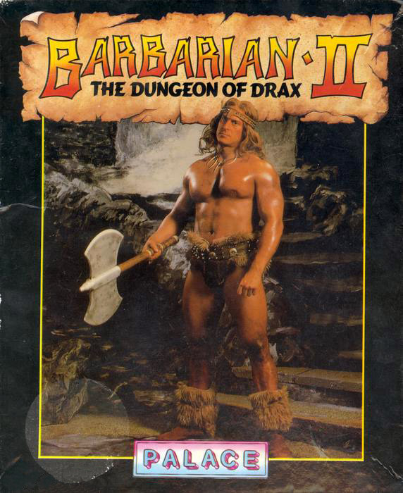 Box shot Barbarian II - Dungeons of Drax ()