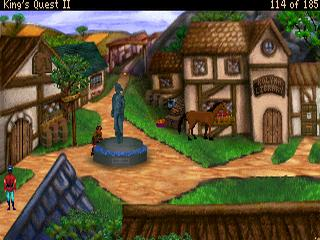 Ut Quest Login >> Download Kings Quest II - Romancing the Stones VGA | Abandonia