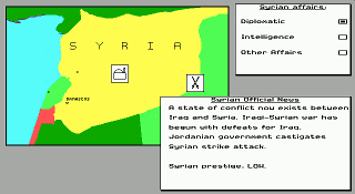 game conflict middle east political simulator
