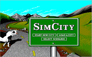 Simcity simulation for dos (1989) abandonware dos.