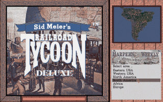Download Railroad Tycoon Deluxe | Abandonia