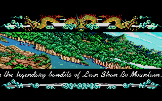 Bandit kings of ancient china download (1989 strategy game).